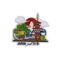 GTNINE Fridge Magnets Japanese Panoramic Souvenirs Fridge Magnet Gifts Office Magnet Refrigerator Magnets for Home Kitchen Fridge Office Whiteboard