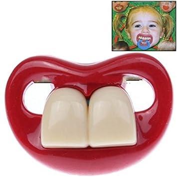 Amazon.com: Safe divertido Dos dientes frontales bebé de ...
