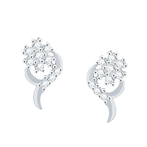 0.167 Ct Diamond Earrings - 8