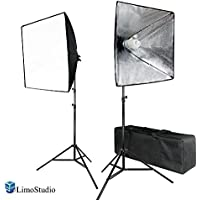 LimoStudio 700W Photo Softbox Lighting Kit, Studio Light Diffuser Reflector