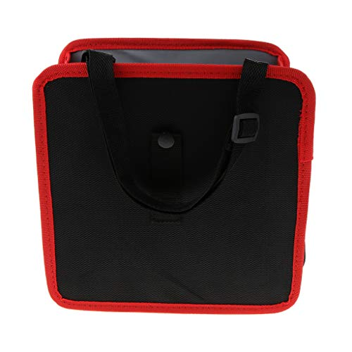 À Panier Etanche Rangement Jouets fuites Fenteer Vêtements Anti Organisateur Ordures Pliable Pour Rouge Sac De Voiture Boîtes Poubelle RR0qzw8