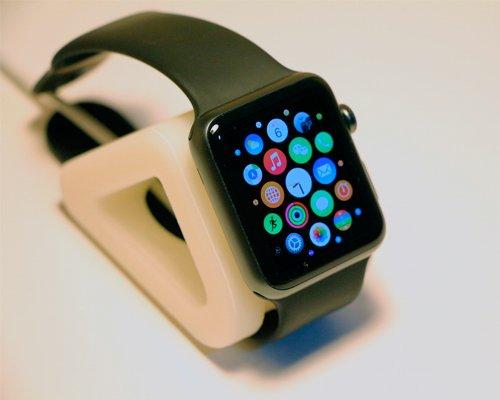 Exclusiva 3D impresión Apple cargador compacto soporte reloj ...