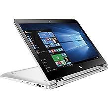 "HP Pavilion x360 2-in-1 13.3"" Touchscreen IPS High Performance Laptop (Model), 7th Intel Core i3-7100U Processor, 6GB RAM, 500GB HDD, 802.11ac, Webcam, HDMI, No DVD, Windows 10"