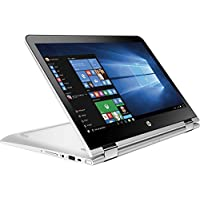 2016 HP Pavilion X360 2-in-1 13.3' Touchscreen Premium Laptop, Intel Core i3-6100U Processor, 6GB RAM, 500GB HDD, 8-hour Battery Life, 802.11ac, Webcam, HDMI, Bluetooth, No DVD, Windows 10