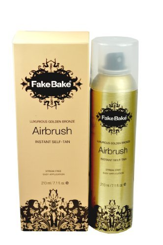 Fake Bake Airbrush Tan (Fake Bake Air brush Instant self tanning Spray 7 oz , set of)