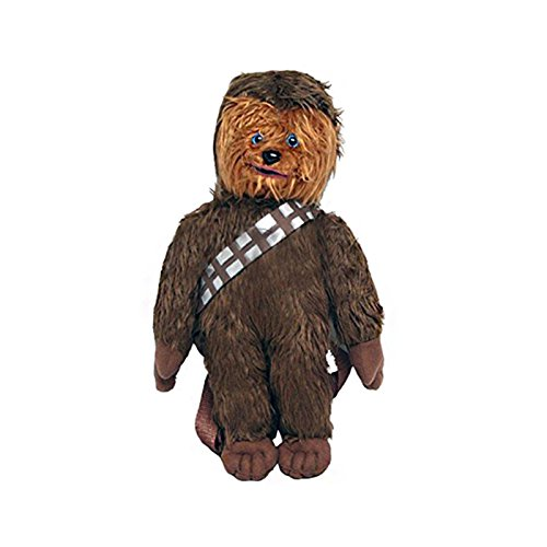 Star Wars Disney 16  Inches Chewbacca Plush Backpack New Licensed Product