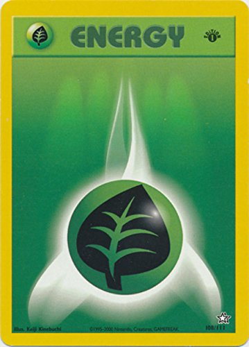 Pokemon - Grass Energy (108) - Neo Genesis - 1st Edition