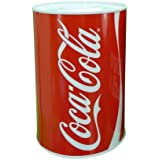 High Quality Coca Cola Kids Money Box Tin Saving Piggy Bank Pot by Mega