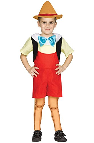 [Wooden Boy Doll Toddler Costume 2T] (Storybook Fairytale Costumes)