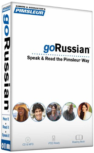 Pimsleur goRussian Course - Level 1 Lessons 1-8 CD: Learn to Speak, Read, and Understand Russian with Pimsleur Language Programs (go Pimsleur)