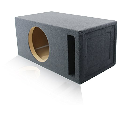 2.0 Cu. Ft. Ported / Vented MDF Sub Woofer Enclosure for Single 12'' Car Subwoofer (2.0 ft^3 @ 32Hz) Made in U.S.A. by MSW Enclosures (Image #3)