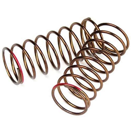 (TEKNO RC LLC Shock Spring Set FRNT 1.4x8.75 4.37lb in 50mm, Red, TKR7237)