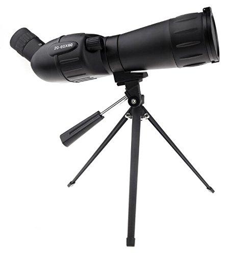 2016 HD Shooting Birdwatching双眼鏡、望遠鏡望遠鏡三脚20 – 60 x 60ズーム調整可能Monocular B075P3TP2W