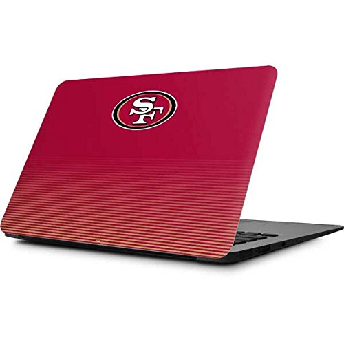 Skinit San Francisco 49ers Breakaway MacBook Air 11.6 (2010-2017) Skin - Officially Licensed NFL Laptop Decal - Ultra Thin, Lightweight Vinyl Decal Protection