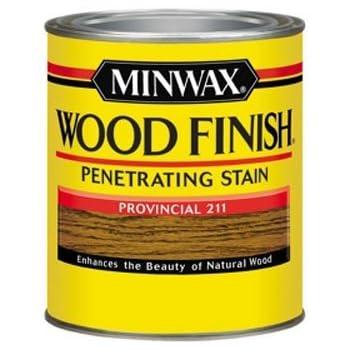 Minwax 70002444 Wood Finish Penetrating  Stain, quart, Provincial