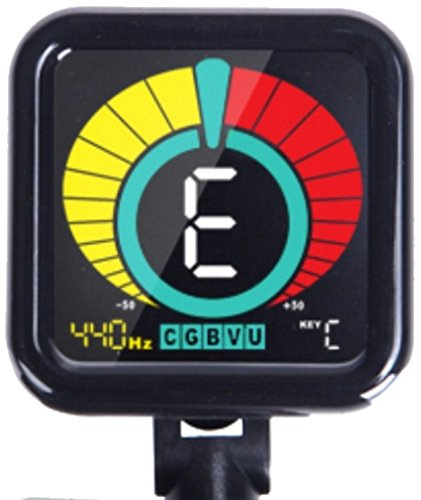 - Crescendo ZenTuner Clip On Tuner, for Acoustic, Electric Guitar, Bass, Violin, Ukulele, and Chromatic Mode for All Instruments, Fast & Accurate, Easy to Read Color Display, Professional and Beginner
