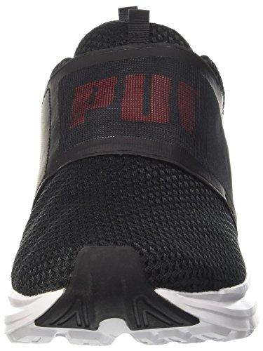 Scarlet flame Strap Homme de Puma Cross Puma Mesh Noir Chaussures Enzo Black YgF5WqxvP