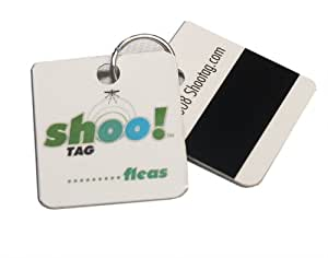 0Bug!Zone Flea and Tick Barrier Tag for Cats, Double Tag for 2 Cats
