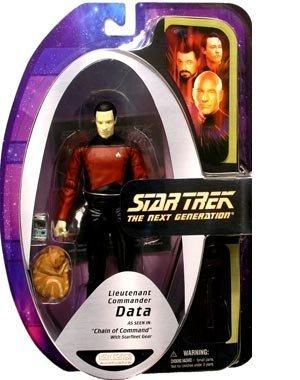 Star Trek The Next Generation Lieutenant Commander Data As Seen in 'Chain of Command' With Starfleet Gear
