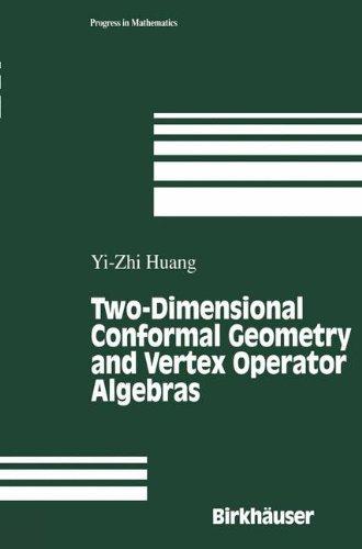 Two-Dimensional Conformal Geometry and Vertex Operator Algebras (Progress in Mathematics)