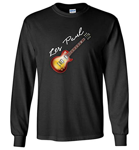 Electric Guitar Gibson T Shirt Les Paul 50s 60s Jazz Blues Country Unisex Long Sleeve Tshirts for Men and Women