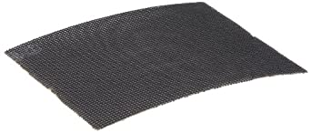 """Glit 23437 Large Mesh Sandscreen Floor Pad, Silicon Carbide, 5-1/2"""" Length x 4-1/2"""" Width, 180 Grit (Case of 50)"""