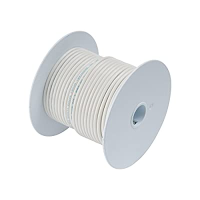 Calterm 50102 Electrical Primary Wire, 8 ft., 10 AWG, White: Home Improvement