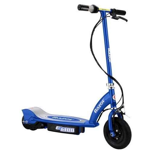 Razor E100 Electric Scooter - Blue