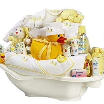 Amazon rub a dub tub gender neutral new baby bath time gift rub a dub tub gender neutral new baby bath time gift basket valentines negle