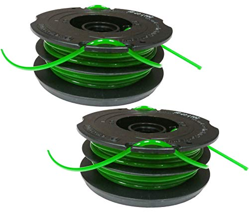 Black & Decker DF-080 .080-inch dual spool line GH1000 GH1100 GH2000 (2 Pack) (Black And Decker Grass Hog Trimmer Line Replacement)