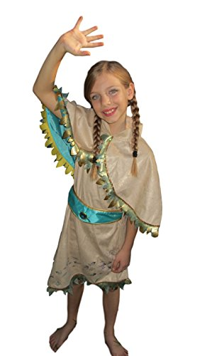 [Disney - Pocahontas 2015 Style Costume for Girls - Size 5/6 - NEW] (Pocahontas Costumes For Kids)
