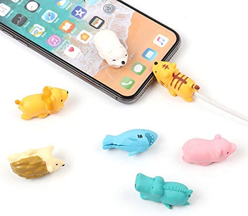 Shuda 1 pcs Cable Bite Animal Protege Cable Phone Cable Protector ...