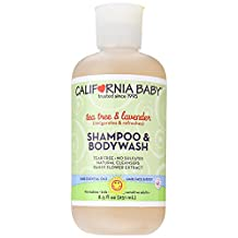 California Baby Shampoo & Body Wash - Tea Tree & Lavender, 8.5 Ounce