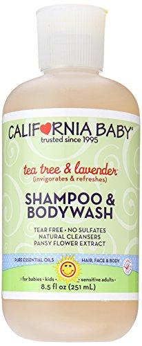 California Baby Tea Tree & Lavender Shampoo & Body Wash - 8.5 oz