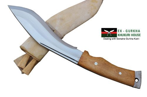Genuine Gurkha Aeof Kukri – 8 Hand Forged Blade Authentic British Gurkha Mini Afghan Khukuri – Handmade By Ex Gurkha Khukuri House in Nepal