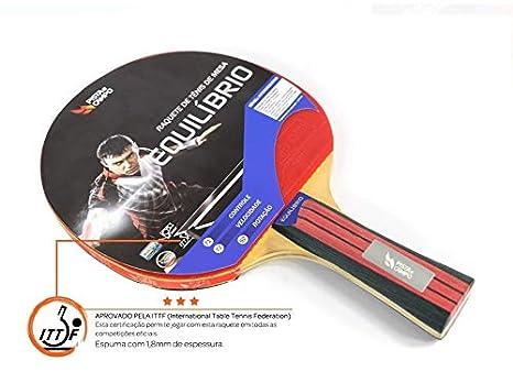 dfd14fef6 Raquete de Tênis de Mesa Equilíbrio Pista e Campo - Certificação ITTF