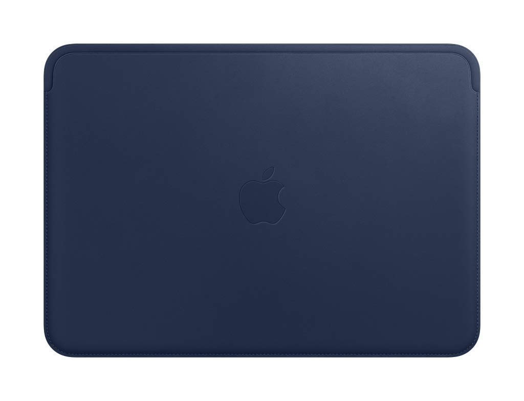Apple Leather Sleeve (for MacBook Pro 13-inch Laptop) – Midnight Blue by Apple (Image #1)