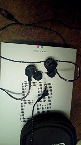 Earsonics ES3 in-ear earphones,Black
