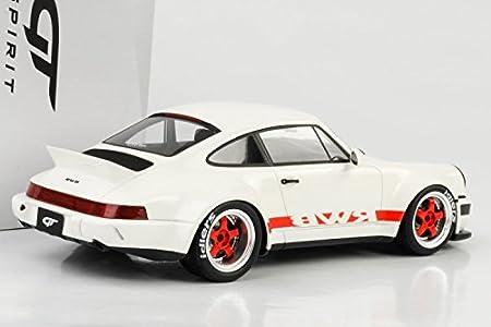 Gt Spirit - Porsche 964 RWB Duck Tail - (Escala 1/18, zm111, Color Blanco/Rojo: Amazon.es: Juguetes y juegos