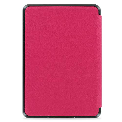 All New Kindle 2019 10th Generation Case with Hand Strap Holder - Hot Pink - Not Compatible with Kindle Paperwhite