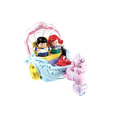 Fisher-price Little People Disney Princess Ariels Coach by Fisher-Price