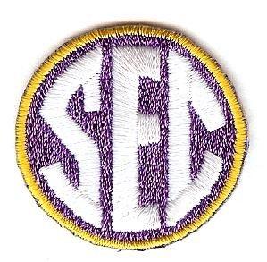 SEC Conference Team Jersey Uniform Patch LSU Tigers