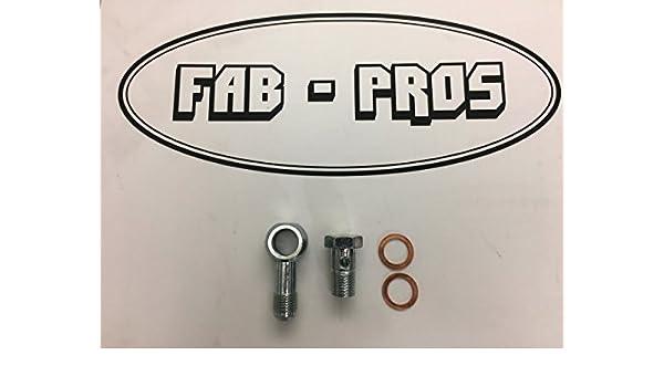 Amazon.com: Coolant Fitting Flange for Borg Warner Turbo EFR Turbos 6258 6758, 7163 -> -6AN BANJO: Automotive