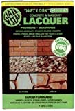 1 QUART of Wet Look Green Concrete & Masonry Lacquer