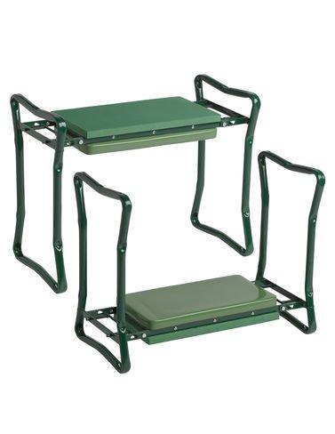 Gardener's Supply Company Extra Wide-Seat Folding Garden Kneeler - Gardeners Kneeler