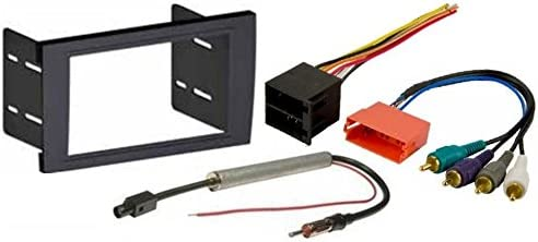 Amazon.com: Aftermarket Radio Stereo Installation Double Din Dash Kit Mount  Trim Bezel Compatible with Audi A4 and RS4 Select Models with Bose System | Audi A4 Wiring Harness |  | Amazon.com