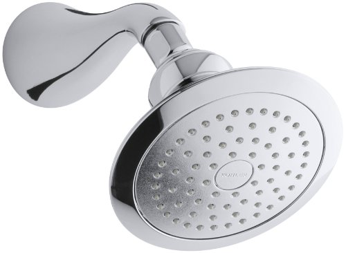 (KOHLER K-16166-CP Revival Single-Function Showerhead, Polished Chrome)