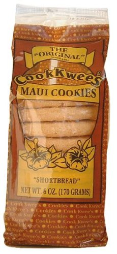 Shortbread Cookie 6 Ounces Cook Kwees The Original Maui Cookies by Cook Kwees