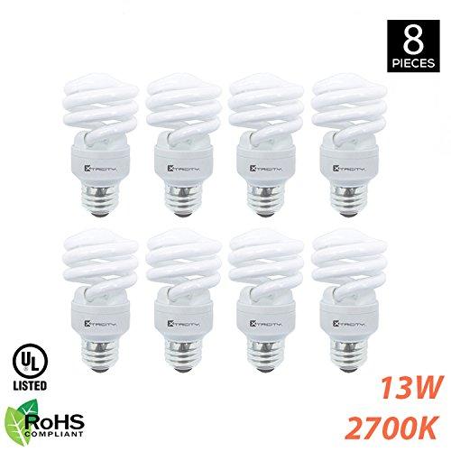 Efficient Fluorescent Globe Light Bulb - 1