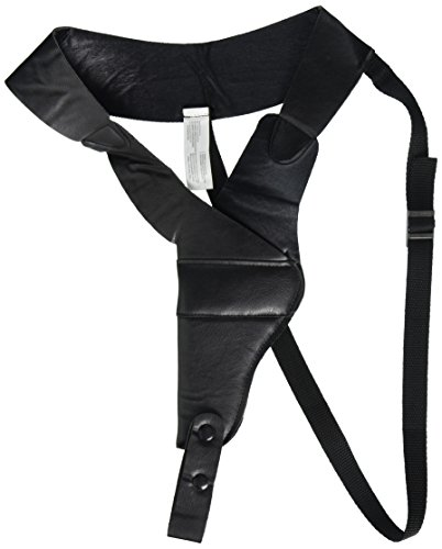 Amscan Boys Adult Roaring '20s Costume Party Gun Holster (1 Piece), Black, One Size (Shoulder Strap Gun Holster Costume)